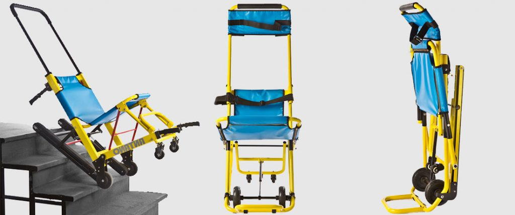 Evacuation chair training courses